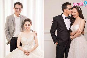 NSND Trung Hiếu hé lộ ảnh cưới với cô dâu xinh đẹp kém 19 tuổi trong lần đầu lấy vợ ở tuổi 46
