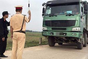 Từ 21/1, CSGT có quyền kiểm soát tất cả xe tải và xe khách