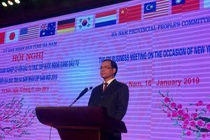 Hà Nam gặp mặt doanh nghiệp FDI đầu xuân Kỷ Hợi 2019
