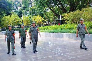 Cựu chiến binh tham gia bảo đảm an ninh, trật tự
