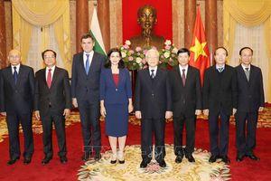 Tổng Bí thư, Chủ tịch nước Nguyễn Phú Trọng tiếp các đại sứ trình Quốc thư