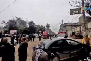 Đánh bom liều chết khiến nhiều lính Mỹ thiệt mạng ở Manjib