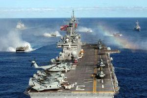 Hoảng hốt với 4.500 lính Mỹ cùng siêu tàu đổ bộ nằm phục, sẵn sàng can thiệp vào Syria