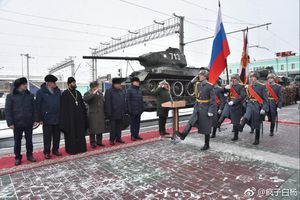 Xe tăng T-34-85 của Lào được chào đón long trọng khi 'hồi hương'