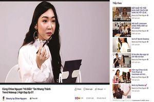 Beauty blogger, nghề của con nhà giàu