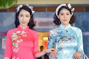 BST áo dài Tết của Văn Thành Công: Sến và rườm rà