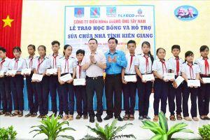 LĐLĐ Kiên Giang: 2,7 tỉ đồng hỗ trợ Chương trình An sinh xã hội