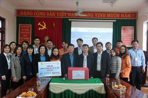 Công đoàn Điện lực Việt Nam thăm hỏi, tặng quà NLĐ vùng sâu, vùng xa