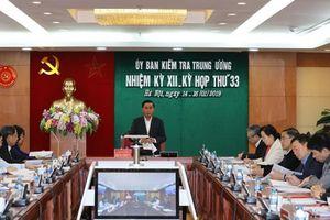 Ủy ban Kiểm tra T.Ư kỷ luật Phó Ban Dân vận Tỉnh ủy Quảng Ngãi