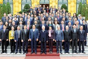 Tổng Bí thư, Chủ tịch nước Nguyễn Phú Trọng dự Hội nghị triển khai nhiệm vụ năm 2019 của Văn phòng Chủ tịch nước