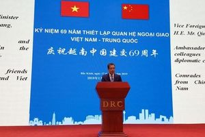 Kỷ niệm 69 năm quan hệ ngoại giao Việt Nam - Trung Quốc