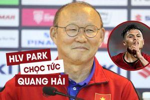 HLV Park Hang-seo tiết lộ chuyện thú vị sau siêu phẩm của Quang Hải