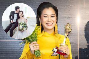 Chồng Lâm Vỹ Dạ khiến khán giả tò mò sau phát biểu của cô tại Mai Vàng