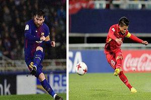 Báo châu Á: 'Quang Hải lĩnh hội tinh túy của siêu sao Messi'