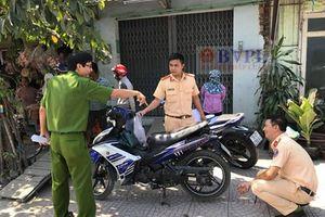 Xe đầu kéo container lại cán chết người ở TP. Hồ Chí Minh