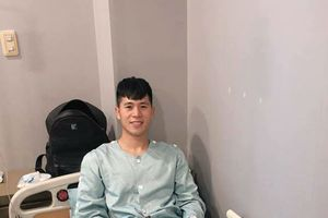 Sau khi phẫu thuật thành công, Đình Trọng chia sẻ gì với các fan trên Facebook?