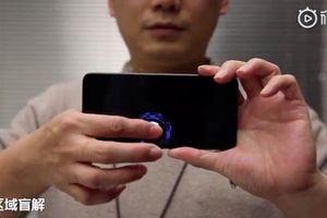 Xiaomi công bố công nghệ cảm biến vân tay dưới màn hình mới
