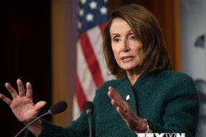 Mỹ: Chủ tịch Hạ viện đề nghị Tổng thống hoãn đọc thông điệp liên bang