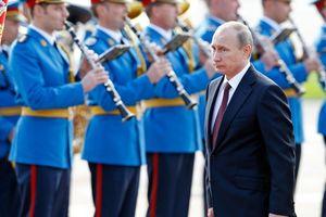 70.000 người Serbia dự lễ đón Tổng thống Vladimir Putin