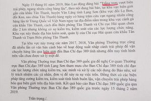 Tăng cường kiểm tra, xử lý thông tin tình trạng buôn lậu tại Lạng Sơn