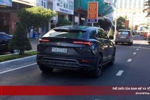 Bắt gặp siêu SUV Lamborghini Urus thứ hai tại Việt Nam mang biển trắng vi vu trên phố