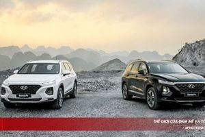 Hyundai SantaFe thế hệ hoàn toàn mới vừa ra mắt thị trường Việt, 6 phiên bản, giá từ 995 triệu đồng