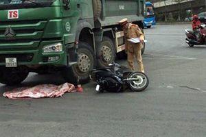 Va chạm với xe máy, xe tải cán tử vong một trẻ nhỏ 2 tuổi