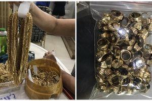 Điều tra 2 đối tượng khả nghi đem bán hơn 230 lượng vàng không rõ nguồn gốc
