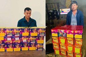 Thanh Hóa: Bắt 2 đối tượng mua bán pháo lậu