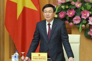 Phó Thủ tướng Vương Đình Huệ: 'Yêu cầu kiểm soát tăng giá tiêu dùng chỉ từ 3,3- 3,9%'