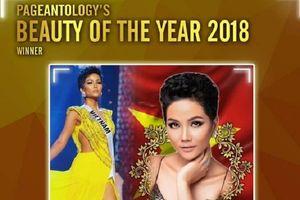 H'Hen Niê bất ngờ được quốc tế bình chọn là 'Người đẹp của năm 2018'
