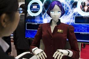 Robot đón khách tại Olympic 2020