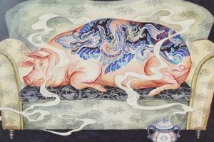 'Du xuân' trong tranh Tết Kỷ Hợi