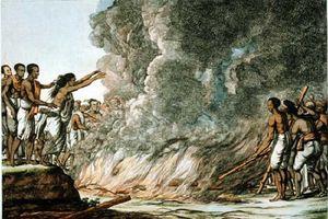 Khám phá rùng mình nghi lễ tự sát hãi hùng thời xưa