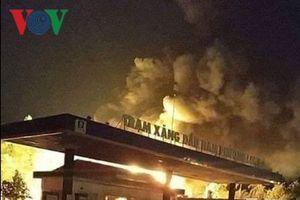 Cháy cây xăng ở Đồng Nai: Hai nhân viên bị bỏng nặng