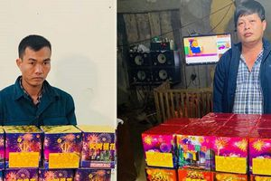 Mua bán gần 100kg pháo lậu, kẻ cộm cán ở Thanh Hóa bị bắt giữ
