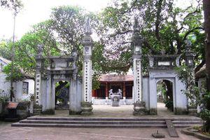 Hà Nội: Thẩm định Dự án tu bổ, tôn tạo di tích đền Khoan Tế