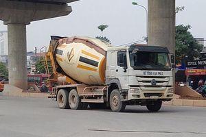 Xe tải, xe bồn đại náo thủ đô dịp cận Tết (2): Muốn chạy giờ cấm phải…'có cách'