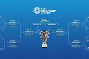 Viêt Nam gặp Jordan và các cuộc đối đầu vòng 1/8 Asian Cup 2019
