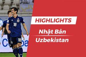 Highlights Asian Cup 2019: Nhật Bản 2-1 Uzbekistan
