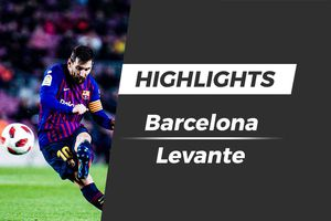 Highlights Barcelona 3-0 Levante