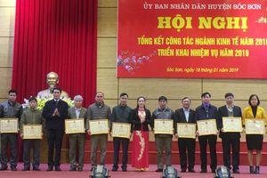 Tăng trưởng kinh tế huyện Sóc Sơn đạt 10,58%