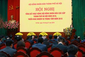 Thường trực HĐND TP Hà Nội phát động thi đua năm 2019