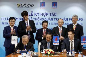 Hợp tác xây dựng hệ thống quản trị phân phối LPG