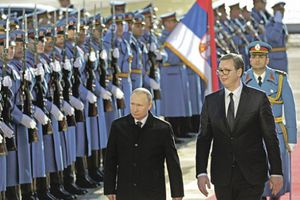 Tổng thống Nga V. Putin thăm chính thức Serbia
