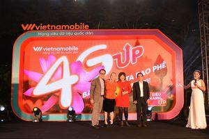 Vietnamobile lên 4G và ra mắt 'Siêu Thánh UP'