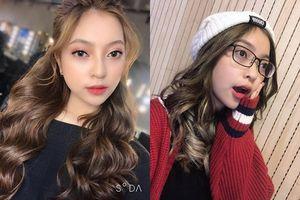 Kiểu tóc mới của bạn gái Quang Hải xinh như búp bê