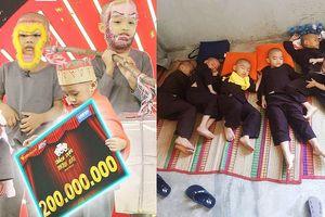 Cuộc sống 5 chú tiểu mồ côi sau thắng 300 triệu 'Thách thức danh hài'