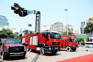 81 xe chữa cháy 'khủng' được Bộ Công an nhập từ Hàn Quốc