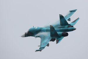2 cường kích Su-34 của Nga va chạm trên không, phi công nhảy dù